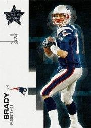 2007 Leaf Rookies and Stars #58 Tom Brady NFL Football Trading Card Patriots