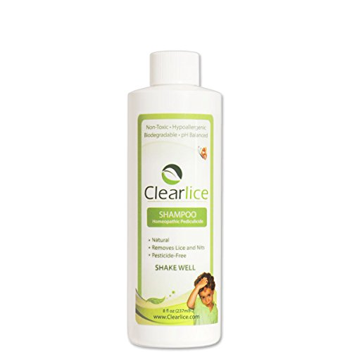 Clearlice Head Lice & Eggs Natural One-day Treatment Sham...