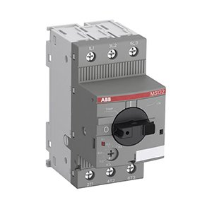 ABB MS132-20 Manual Motor Starter, 16 - 20 A, 15 hp