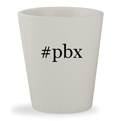 Price comparison product image #pbx - White Hashtag Ceramic 1.5oz Shot Glass