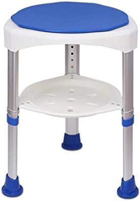 كرسي حمام دي بي شاور ليفت كرسي مقعد حمام لكبار السن مقاعد استحمام المعاقين للبالغين ارتفاع قابل للتعديل 8 مستويات للارتفاع سطح الكرسي قابل للدوران 360 درجة باللون الأزرق مقعد حمام Amazon Ae