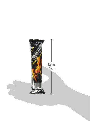 deezer/three kings Charcoal Coals Quick Lighting, 100 Piece