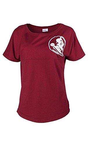 Official NCAA Florida State University Seminoles FSU Noles Women's Short Sleeve Spirit Wear Jersey T-Shirt