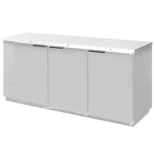 Beverage Air BB72YF-1-S-27 Standard Depth Back Bar Cooler in ()
