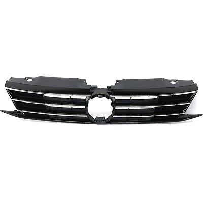 - CPP VW1200165 Plastic Grille Assembly for 2015-2016 Volkswagen Jetta