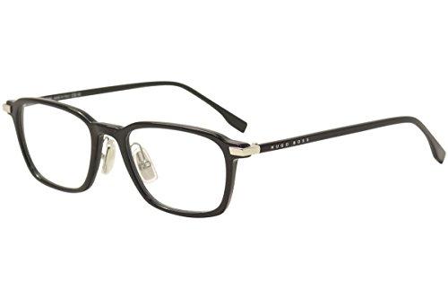 Hugo Boss Men's Eyeglasses 0910 807 Black Full Rim Optical Frame 50mm from Hugo Boss