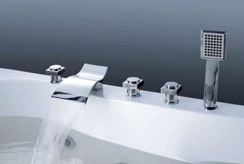 Deck Mounted Bath Shower Mixer - 6