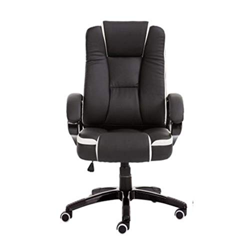 Chairs,Offce Chair Chairs Chair Backrest Desk Simple Modern Business Executive Chair President Chair Lifting Computer Swivel Chair WEIYV (Color : Black, Size : 116-126cm)