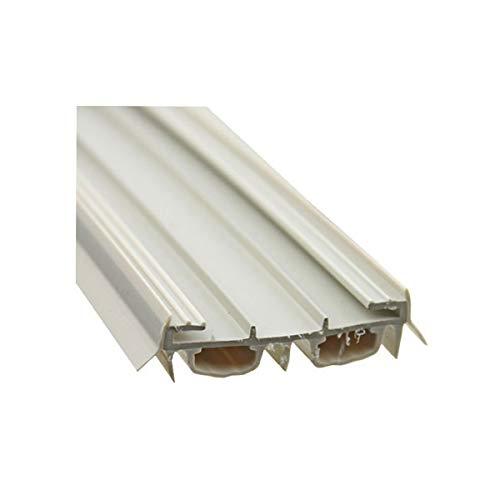 Door Parts: Bottom / Sweep, Slide on, Bulb Type - Beige color (Slide On Door Sweep)