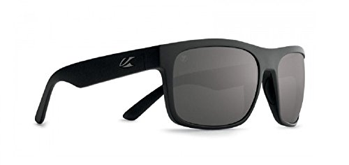 Kaenon Burnett XL Black Label - Grey 12 Polarized Black Mirror Sunglasses (Xl Black Label)