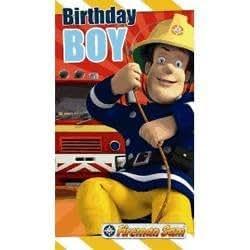 Fireman Sam - Birthday Boy Birthday Card