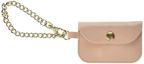 O bag - Mini Lucido, Carteras de mano Mujer, Blu (Cielo), 0.5x6.3x9.5 cm (W x alto largo): Amazon.es: Zapatos y complementos