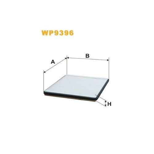 Wix Filters WP9396 Cabin Air Filter: