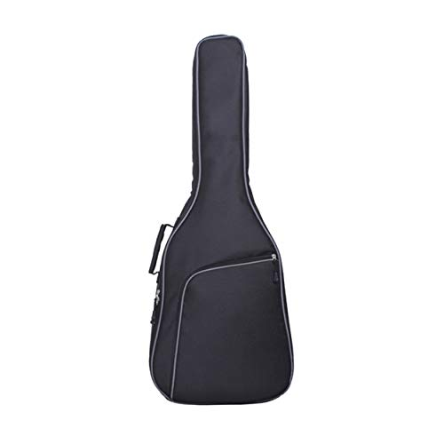 CNluca For Thicken Folk Guitar Bag Doble bandolera Correa Guitar Bag Transpirable Tela Oxford 10mm Acolchado Guitarra Bolsa...