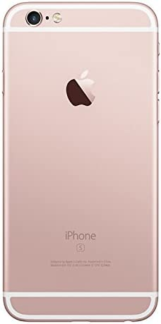 Apple iPhone 6S Plus, 128GB, Rose Gold - For AT&T / T-Mobile (Renewed)