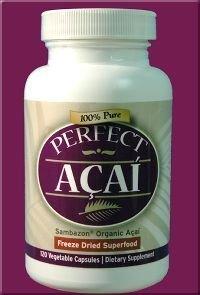 100% Pure Acai Capsules organiques