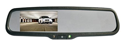 BOYO VTM43ME Rear View Mirror Monitor - Boyo Rear Cameras View