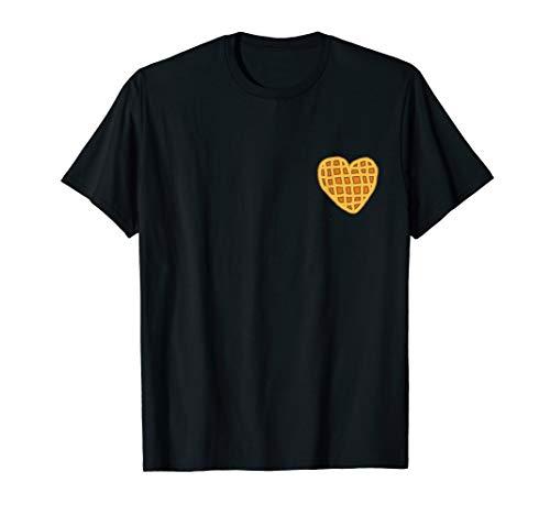 Belgian waffle shirt: I love waffles shirt women, girl, teen