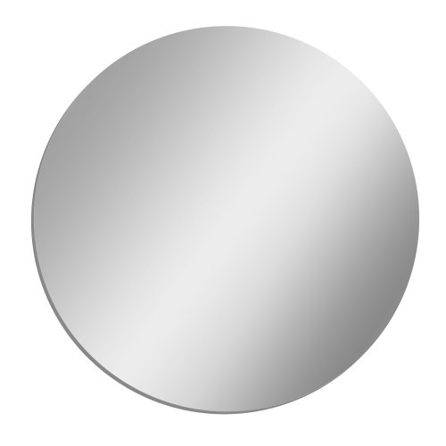 GLOSSY GALLERY Circle Shatterproof Acrylic Safety Mirror - 8in x8in