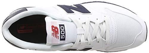 Uomo Balance White 500 white Sportive Scarpe New Bianco gIwHqSWWxn