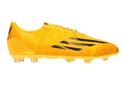 adidas Men's F30 FG Messi Soccer Cleats,9.0 D(M) US, Solar Gold/Black (F30 Soccer Adidas Cleats)
