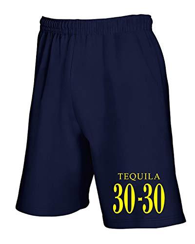 Navy T Pantaloncini Tuta Blu Fun0471 Tequila shirtshock qwIw64aU