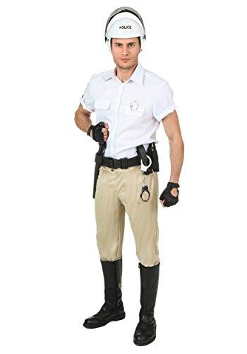 Plus Size Village People Police Costume -