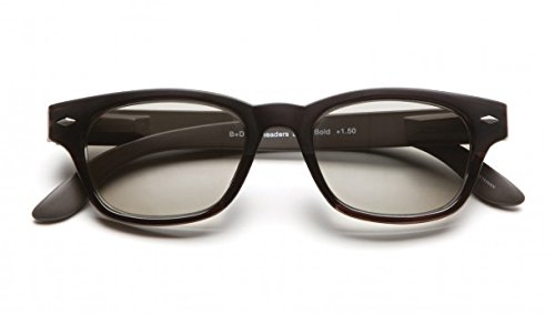 B+D SUPER BOLD SUN READER BRILLIANT BLACK - Bold Super
