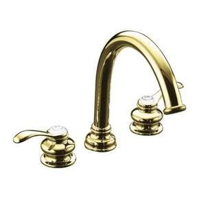Kohler KP128854PB Fairfax Tub And Shower Faucet In Polished - Polished Fairfax Brass Single
