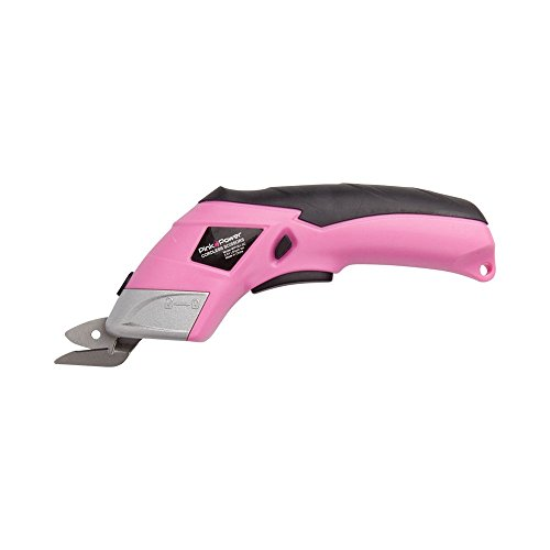 Fabric Cutter Box Cutter Pink Power 3.6V Lithium Ion Cordless Scissors with 2 Blades for Fabric and Crafts (Cordless Power Scissors compare prices)