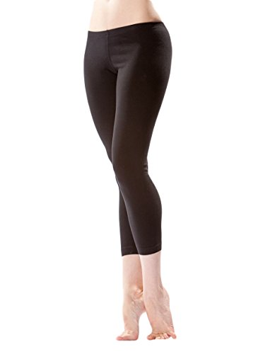 Calf Tail (Hard Tail Women's Mid-Calf Yoga Legging, Large, Black)