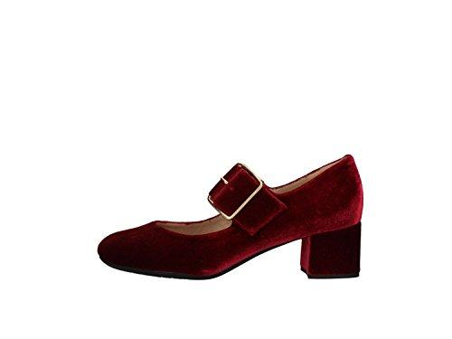 Unisa Katar Zapato Alto Mujer Burdeos