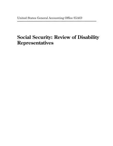 Social Security  Review Of Disability Representatives