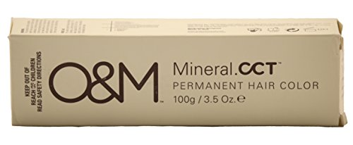 O&M Original Mineral CCT Permanent Hair Color 3.5 oz (8/11 Double Ash Light Blonde)