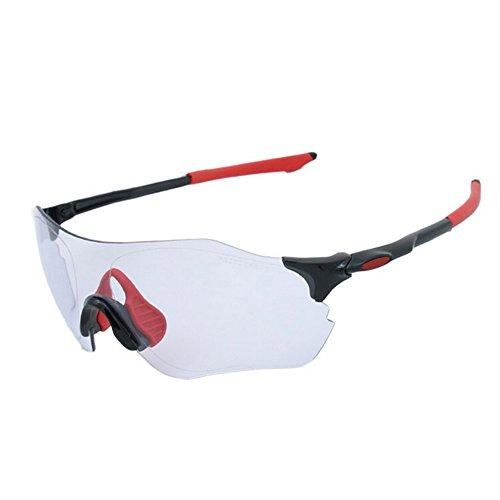 Color Ejecutan Prueba para Que Mujeres A Negro Montar Sol Aire De Descoloridas Al Hombre Montaña De Libre Bicicleta Equipos Red de Y Gafas De De Viento Hombres LBY Gafas qPUnFS