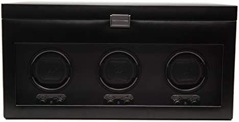 270502 Heritage Module 2.1 Triple Watch Winder with Cover and Storage