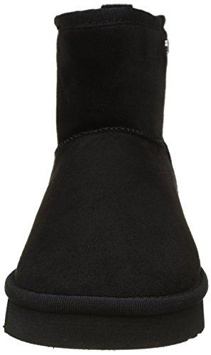 Buffalo Shoes 334774 Micro Fiber 7# , Botas Antideslizantes para Mujer Negro (Black 01)