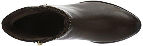 Caprice 25332, Botines para Mujer Marrón (DK BROWN COMB 328)
