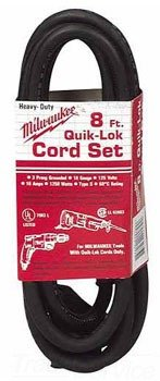 Milwaukee Cord Drill - Milwaukee Electric Tool 48-76-4008 Quick Lock Cord