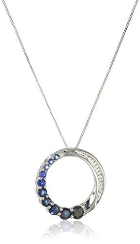 Diamond Accent Circle Pendant - 4
