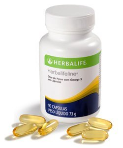 Herbalifeline with Omega-3 Fatty Acids EPA DHA 60 Softgles Shipped from USA by Herbalife