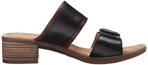 Platform Full Women's Sandal Black Grain Lenny Dansko xHzPwP4