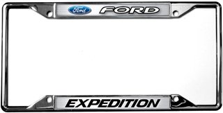 (Eurosport Daytona- Compatible with -, Ford/Expedition License Plate Frame )