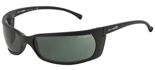 Arnette Men's Slide Rectangular Sunglasses matte black 65.6 mm