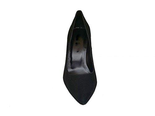 Pelle Donna Scarpes 9 Cm Tacco E Col Con Fine In Nero Da Gennia Punta Mezquita Stilettos Spillo Camoscio vIqYY5