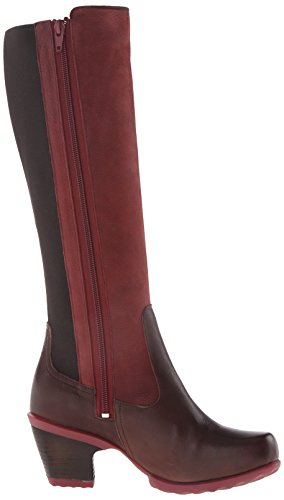 John Fluevog Womens Blossom Dress Pump Burgundy
