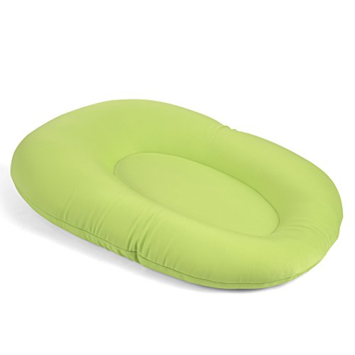 Cuddles Soft Baby Bath Pillow & Lounger (Lime)