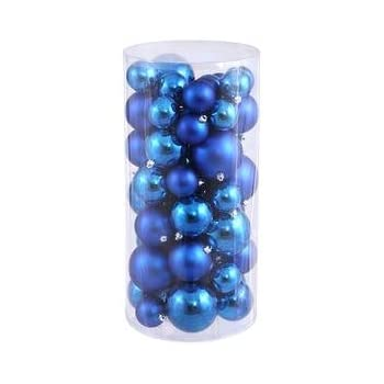 "Vickerman 24""-3""-4"" Blue Balls Shiny/Matte 50 per Box"