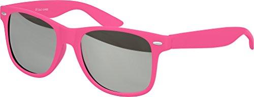 101 Silber à mat Nerd couleurs Gomme ressort Lunettes au Soleil Balinco Pink verspiegelt plusieurs Lunettes Unisexe De choix haute Vintage Modèles Charnière Rétro qualité BxFpZ