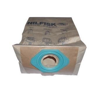 Karcher-Lote de 5 bolsas de papel para aspiradora nilfisk/gs ...